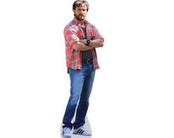 A Lifesize Cardboard Cutout of Saif Ali Khan wearing hawain shirt
