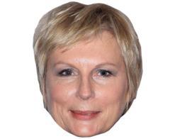 A Cardboard Celebrity Mask of Jennifer Saunders