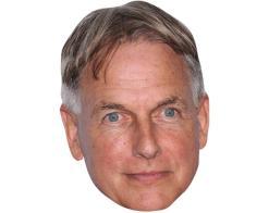 A Cardboard Celebrity Mask of Mark Harmon