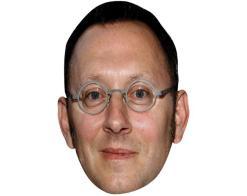 A Cardboard Celebrity Mask of Michael Emerson