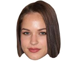 A Cardboard Celebrity Mask of Alexis Knapp