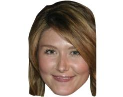 A Cardboard Celebrity Mask of Jewel Staite