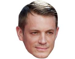 A Cardboard Celebrity Mask of Joel Kinnaman