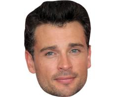 A Cardboard Celebrity Mask of Tom Welling