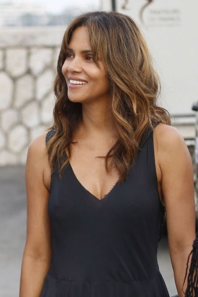 Halle Berry At Party on a Yacht at Cannes Lions Festival - Celebzz