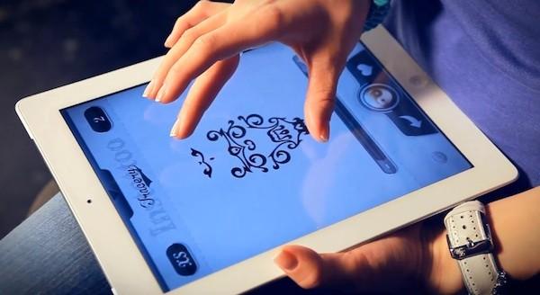 Instattoo iOS app