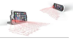 Connetech iPhone 6 Plus Projector keyboard case  (4)