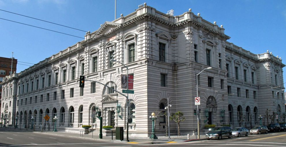 U.S. Post Office & Courthouse, 7th & Mission Sts, SF