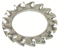 External Serrated Lock Washers