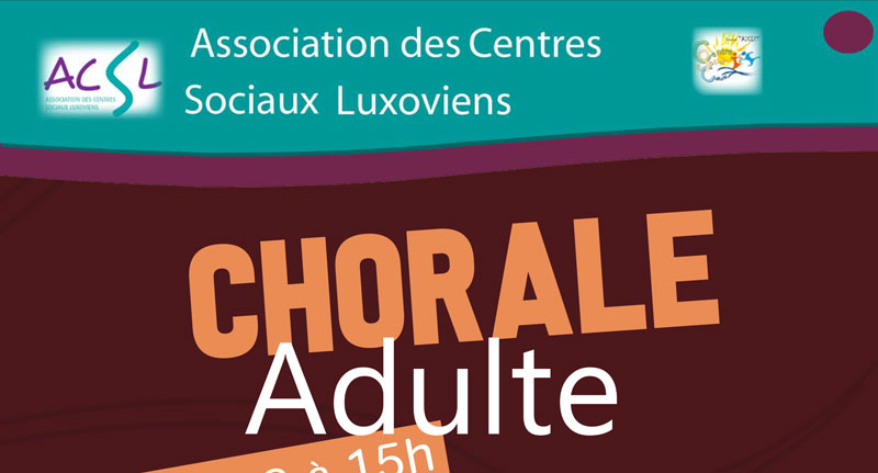 Chorale « Maie Joly » – Chorale adulte –  Dimanche 14 avril 2019 à 15h00