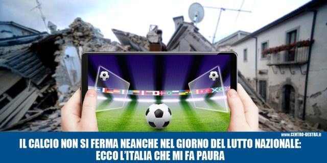 Terremoto calcio