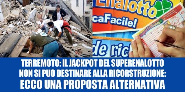 jackpot terremoto