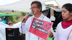 Conferencia de prensa Asamblea Popular Altos de Chiapas