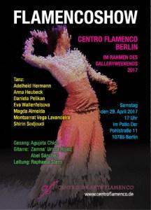 Flamencoshow 2016 Centro Flamenco Berlin