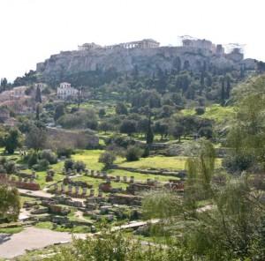 Atene, agorà.