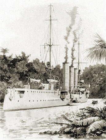 La cattura di una finta nave ospedale a Lindi è l'inizio della fine per l'incrociatore «Königsberg»