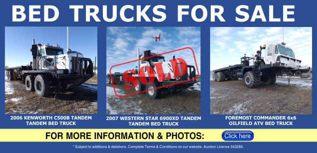 Bed Trucks for Sale
