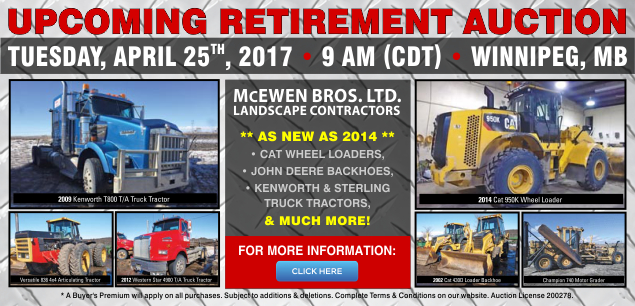 McEwen Bros Auction Slider