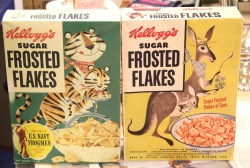 Riveting Retro Frosted Flakes Kangaroo Box Cereal Kellogg S Frosted Flakes Calories Kellogg S Frosted Flakes Pumpkin Spice Est Items