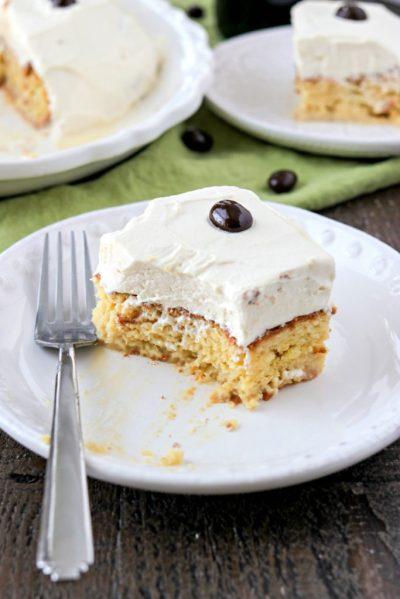 Irish Cream Tres Leches - CPA: Certified Pastry Aficionado