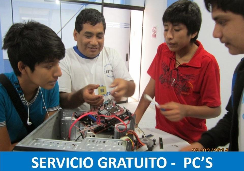 Servicio Gratuito PC's
