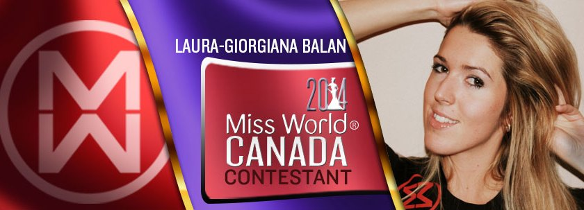 missworldcanada2014-Laura-Giorgiana-Balan-cover