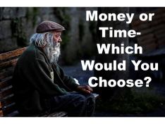Money or Time Win the Lottery or Live Twice as Long
