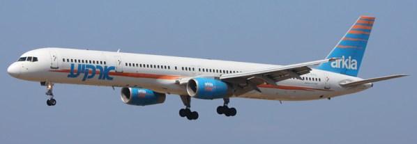 Arkia Israeli Airlines Boeing 757-300