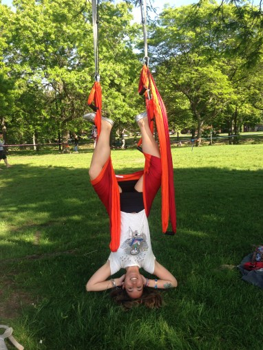 silk acrobat