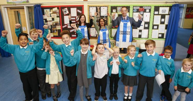 Yorkshire's Legal People support the Huddersfield Town Foundation