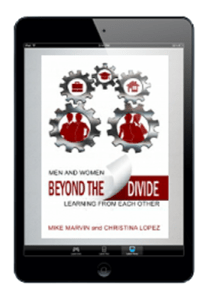 Beyond the Divide eBook on tablet