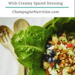 Waldorf Salad with Creamy Spiced Dressing