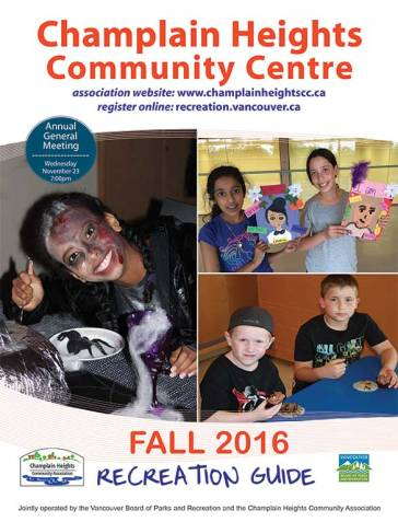 Fall Recreation Programs