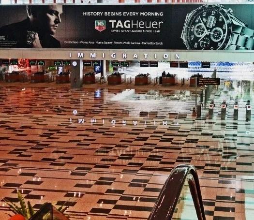 Changi Airport Singapore Immigration
