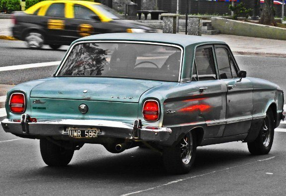 Vintage cars of Latin America Buenos Aires ford falcon