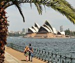 Milsons Point view of Sydney Opera House