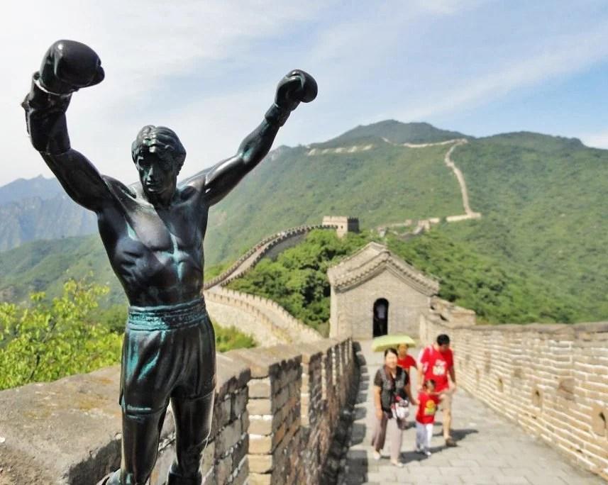 rocky statue china