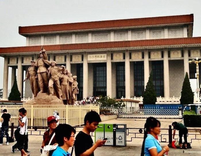 Mao mausoleum Beijing