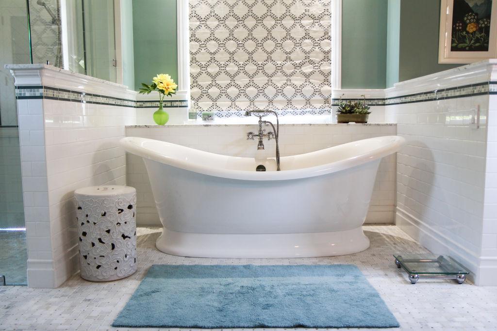 Cool Gray; Bathroom Remodeling In Atlanta