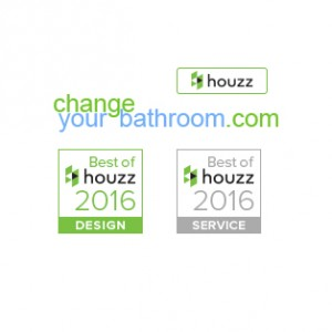 Change Your Bathroom wins Best of Houzz 2016