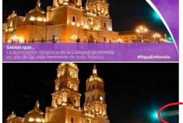 """Alcalde De Morelia Justifica Confusión Con Catedral De Durango En Promo Papal: """"Son Muy Similares"""""""