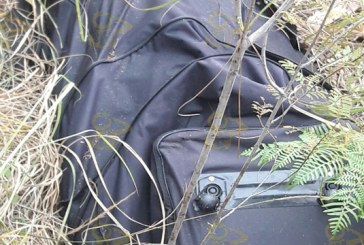 #Michoacán Encuentran Maleta Con Esqueleto Dentro En Uruapan