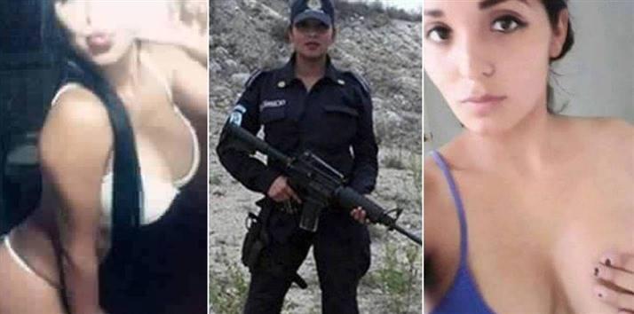 Aparecen Más Selfies 'Sexys' De La Policía De Escobedo, Nuevo León Suspendida Por Topless