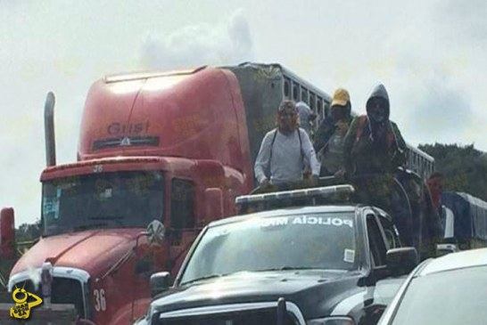 Tensión En Nahuatzen: Secuestran 65 Unidades Incluida 1 Patrulla, Pipas Y Madrinas
