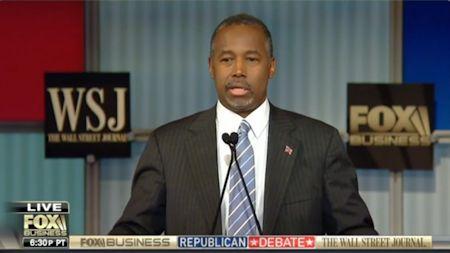 Ben Carson at the Republican Debate - 11/10/2015