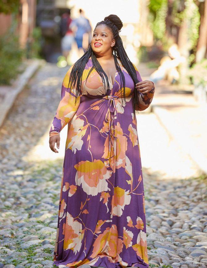 Plus Size Blogger wearing Rachel Pally