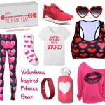 valentines day inspired fitness gear