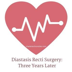 diastasis recti surgery years later