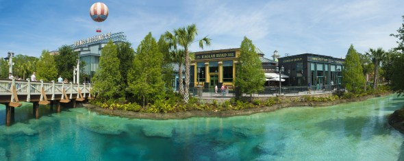Within Town Center, guests will find exceptional shopping and dining experiences along with breathtaking vistas overlooking The Spring, the heart and soul of Disney Springs, the shopping, dining and entertainment district at Walt Disney World Resort. Town Center has an eclectic and contemporary mix of retail shops from Disney and other noteworthy brands. (Courtney Di Stasio, photographer)