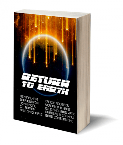 Return To Earth SMALL Standing Book